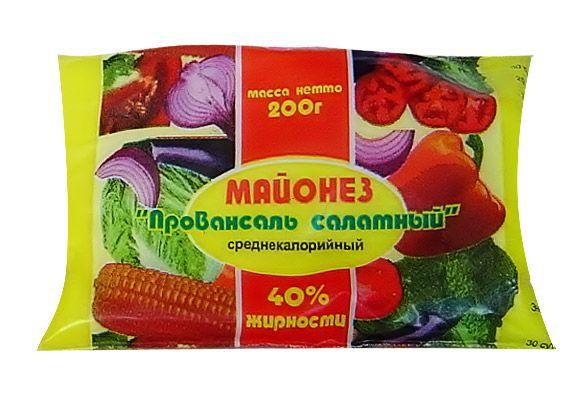 Майонез «Провансаль салатный» жирностью 40%