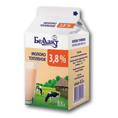Молоко топленое, жирность 3,8 %