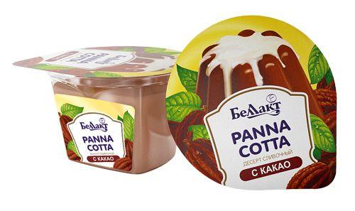 «Panna cotta» с какао